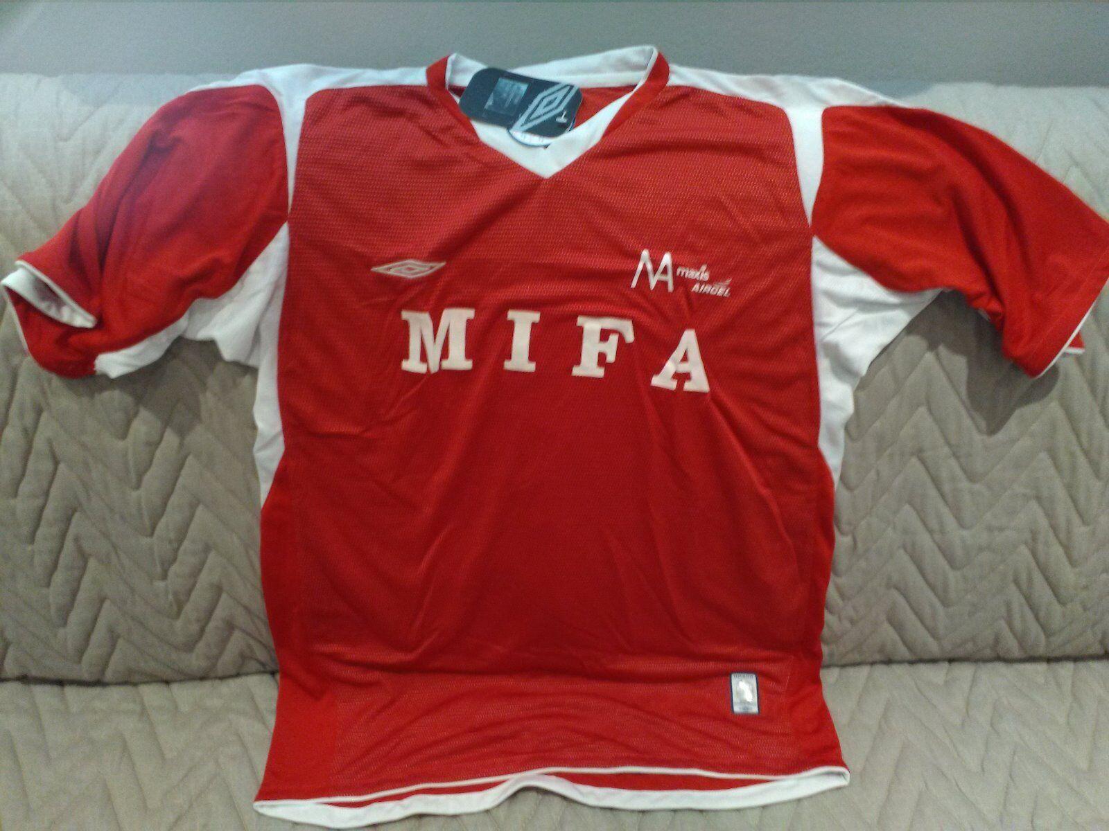 MAGLIA SHIRT CAMISETA VINTAGE OFFICIAL MALAYSIAN INDIAN FOOTBALL calcio new