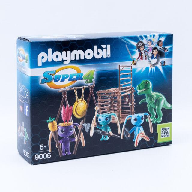 Playmobil 9006 Alien-Krieger mit T-Rex Super4 Neu OVP MISB
