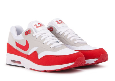 Lively tin Bachelor  Nike W Women's Air Max 1 Ultra 2.0 LE 3.26 Day White Red (908489-101) size  6.5 | eBay