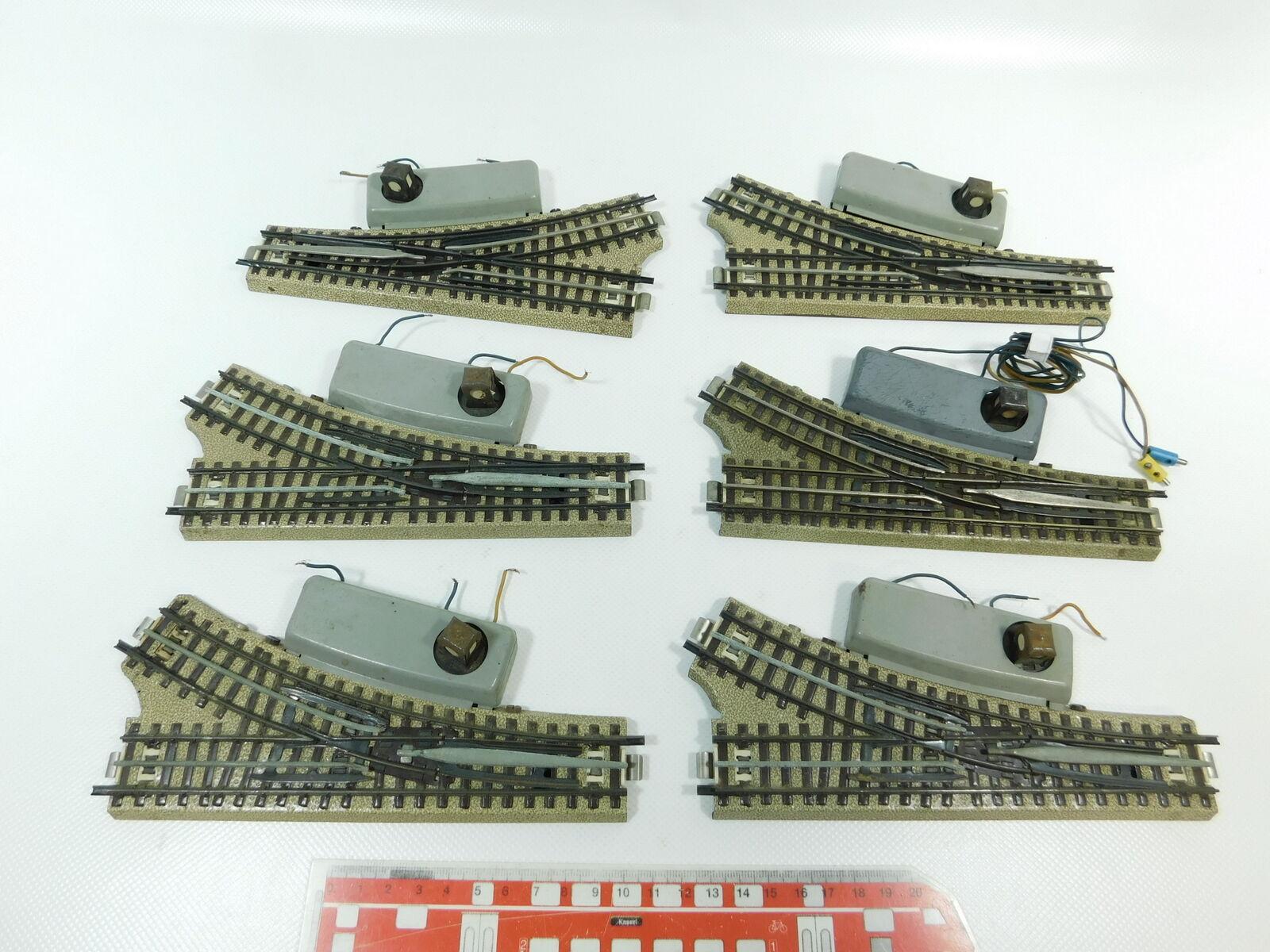 BF754-2 6x  /Marklin H0 /00/ Ac Morbido/Deviatoio M PISTA per 3600/800