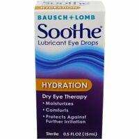 Bausch + Lomb Soothe Lubricant Eye Drops Hydration 0.50 Oz Each on sale