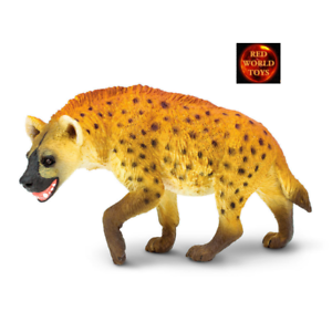 SPOTTED HYENA WILDLIFE TOY MODEL by SAFARI LTD 222629 *NEW WITH TAG*