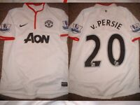 Manchester United Van Persie Jersey Shirt Boys Large Soccer Football Nike Top