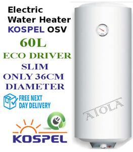 KOSPEL-SLIM-Water-Heater-Boiler-Cylinder-Tank-60L-new-2000W