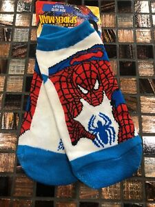 Size6.5-8 Crouch Black Toe Spiderman Spidersense Socks ~ Sets and Singles