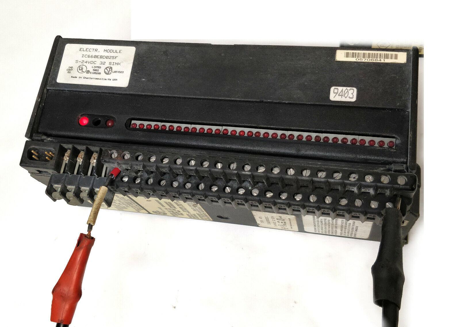 GE Fanuc Genius PLC IC660BBD025