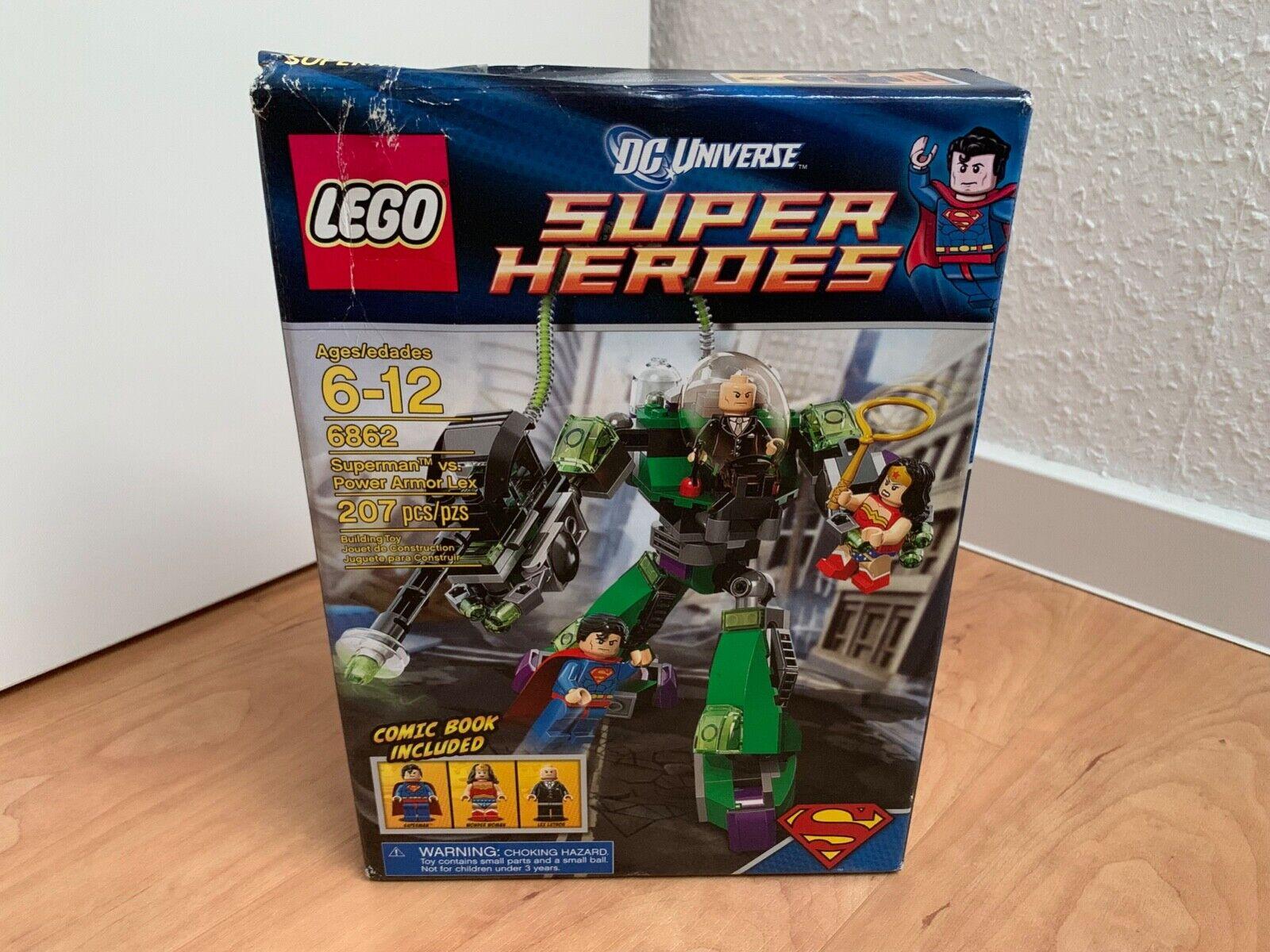 LEGO ® DC Universe Super Heroes Superman vs. Power Armor Lex   6862   NEU & OVP