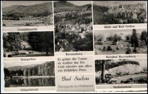 Stempel-205-Bad-Sachsa-Suedharz-a-AK-Bedarfspost-1960-alte-Postkarte