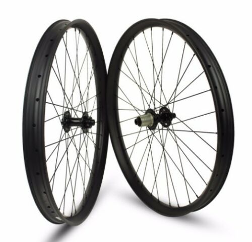 650B Mountain Bike Carbon Wheelset 50mm Width 25mm Depth with boost hub 110148