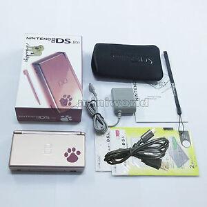 BrandNew-Nintendogs-Metallic-Rose-Nintendo-DS-Lite-HandHeld-Console-System-gift