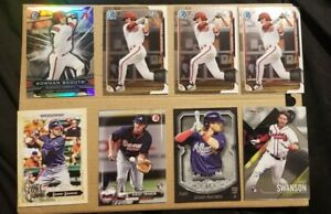 Dansby-Swanson-Rookie-Card-lot-Bowman-Chrome-Finest-Contenders-Atlanta-Braves