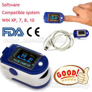 Nuevo-CE-FDA-Dedo-oximetro-de-pulso-SPO2-monitor-USB-y-software-para-PC-24Horas