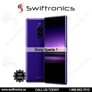 Brand Sony Xperia 1 Dual 128GB 6GB RAM (J9110) Factory Unlocked Canada Preview