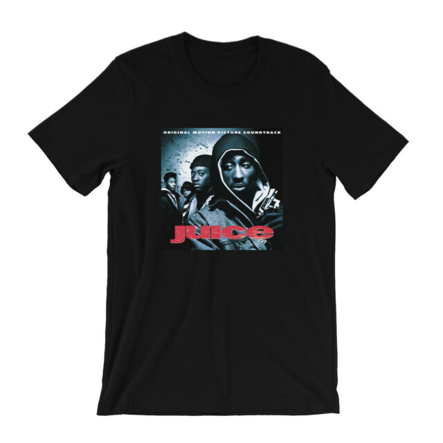 2PAC T-shirt Bishop Juice Tupac Shakur Hip Hop Rap Tee Men    Black New