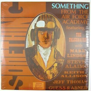 FALCONAIRES-STEVE-ALAIMO-Something-From-The-Air-Force-Academy-LP-1970-SEALED