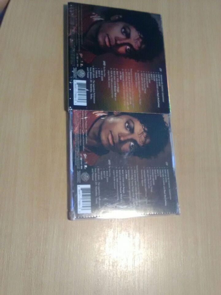 Michael Jackson cd og Dvd: Thriller 25 års jubilæum, andet