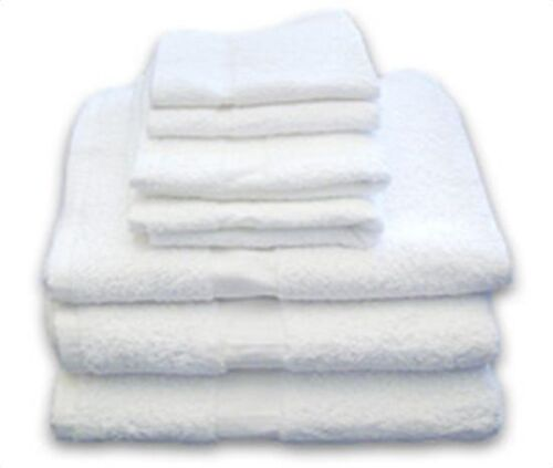 12 new 100/% cotton commercial bath towels utility gym hotel motel 24x50 jumbo