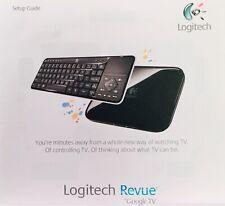 Logitech Revue Digital HD Google TV Media Player Streamer Keyboard Controller