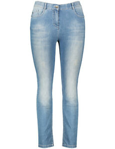 Jeans Kurzgröße%2c Betty Jeans Blau Damen Samoon at5kmv7Wsb