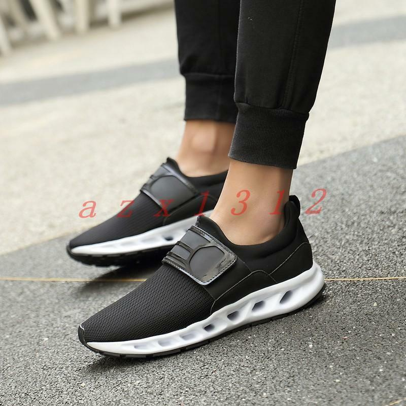 New Men Mesh Breathable Jogging Athletic Sneakers Sport College Casual Shoes Hot