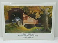 Mark Twain Noe Greeting Card Pack Of 5 Of Images From The Gallery Of History