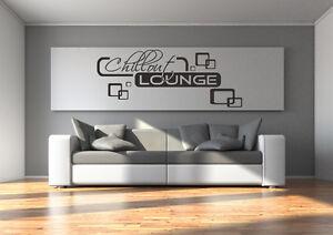 wandtattoo chillout lounge wohnzimmer relaxzone retro cubes ... - Wandtattoo Wohnzimmer Retro