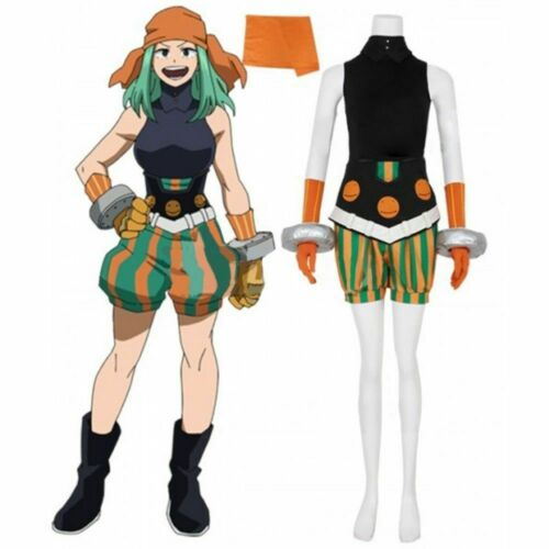 Joke Cosplay Costume{c/'v} My Hero Academia Emi Fukukado Smile Hero Ms