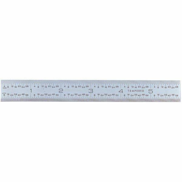 """C316R-6 L 6/"""" Starrett Flexible Steel Rule-Model"""
