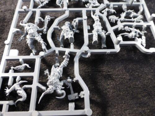 SPACE MARINE DEL CAOS DEATH Guard poxwalkers su telaio in plastica 40K DARK IMPERIUM