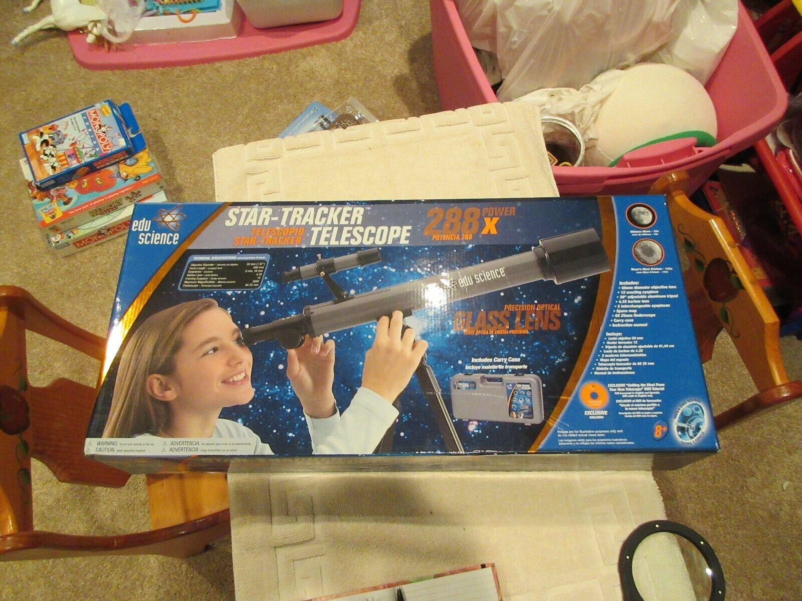 Star-Tracker Telescope , 288 Power X , Edu Science , Ne