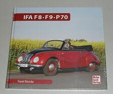 Schrader Typen Chronik IFA DKW F8 / F9 + AWZ Sachsenring P70
