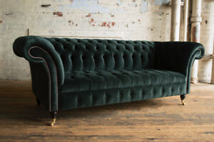 Plush Dark Emerald Green Velvet Fabric
