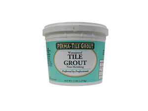 Details about PERMA TILE GROUT 5 LB WATERPROOF TILE GROUT NON SHRINKING FOR  SWIMMING POOLS