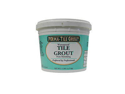 PERMA TILE GROUT 5 LB WATERPROOF TILE GROUT NON SHRINKING FOR SWIMMING  POOLS | eBay