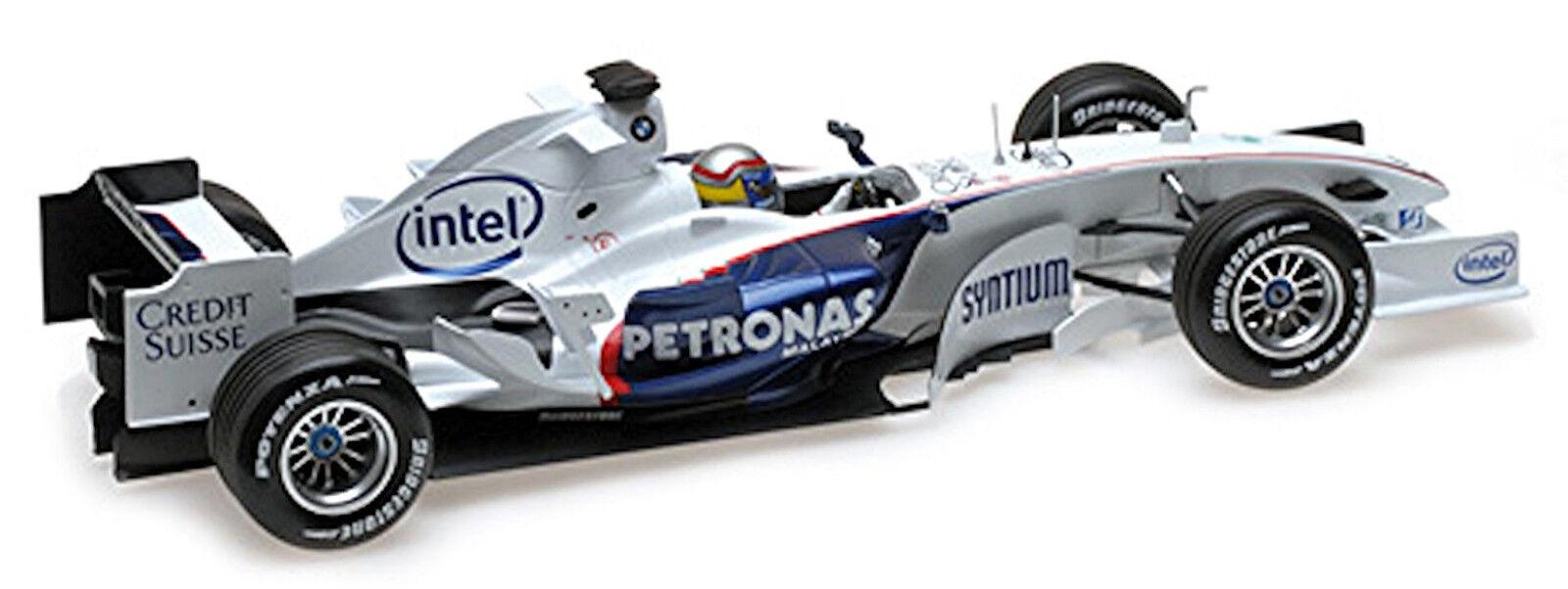 Propre BMW c24b Formula 1 Valence 2006 N. Heidfeld 1 18 Minichamps L.E. 180 PC