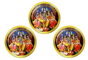 Shiv-Famille-Portrait-Hindou-Marqueurs-de-Balles-de-Golf