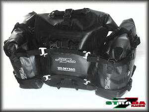 6e51326f6396 Details about Strada 7 Racing Universal 40L 3 bag set Motorcycle Dry bag  Tail Bag Adventure