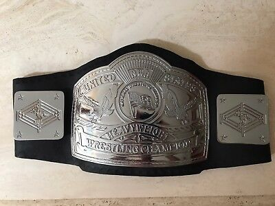 NWA US Championship title Belt held by Magnum TA and Tully ...
