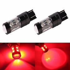 JDM ASTAR 50W CREE 7440 7443 T20 LED Pure Red Brake Tail Turn Signal Lights Bulb