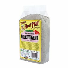 Bobs Red Mill Organic Buckwheat Flour, 22-Ounce Pack of 4