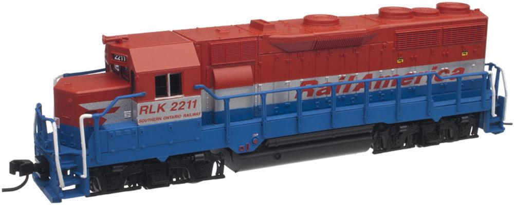 ATLAS 40000759 N Scale GP35 Locomotive RLK RAILINK CANADA 2210 w/ NCE DCC  NEW