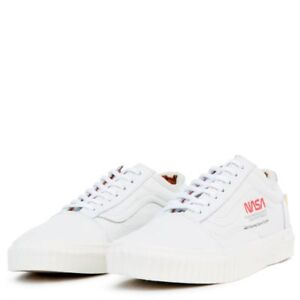 7609b417e2cb Vans x NASA Old Skool True White Space Voyager Collab Shoes All NEW ...