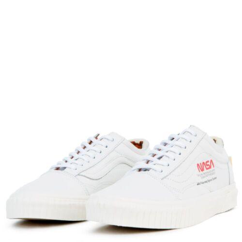 Collab Old Blanc Espace Vans Voyageur Vrai Chaussures X Skool Nasa Toutes SWggnAqR