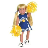 Doll Clothes Fit Ag 18 Blue Cheerleader Springfield Made For American Girl Doll