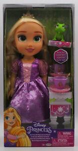 Genuine Disney Princess Rapunzel Bambola Tea for Two con Pascal Regalo di Natale 3+