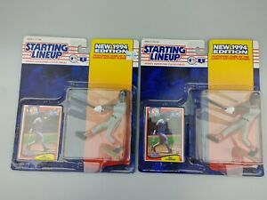 2x Mo Vaughn Boston Red Sox 1994 MLB Baseball Starting Lineup Figure SLU