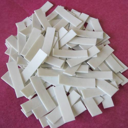 200 Smooth Non Slip Grips For Alligator Hairclips