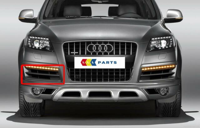 AUDI NEW GENUINE Q7 09-15 FACELIFT O/S RIGHT FRONT BUMPER LOWER GRILL 4L0807682B
