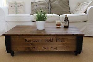 Tavolini Da Salotto In Legno Massiccio : Tavolino da salotto nussbaum legno massiccio shabby chic vintage