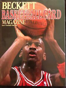 NBA-MICHAEL-JORDAN-BECKETT-BASKETBALL-MAGAZINE-ISSUE-1